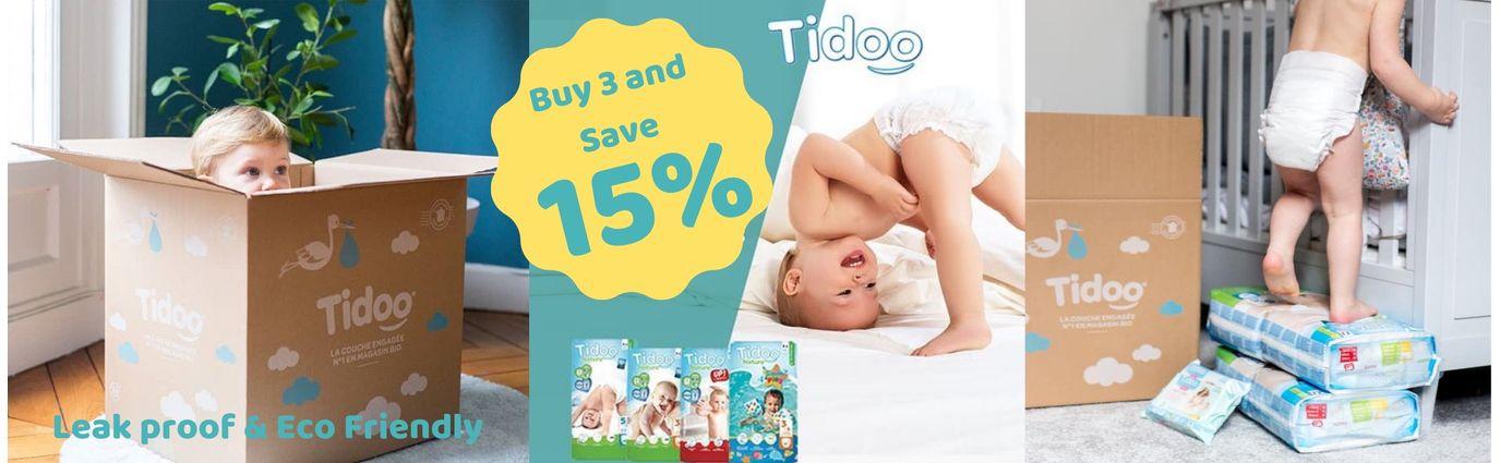 Tidoo - Eco Friendly Diapers