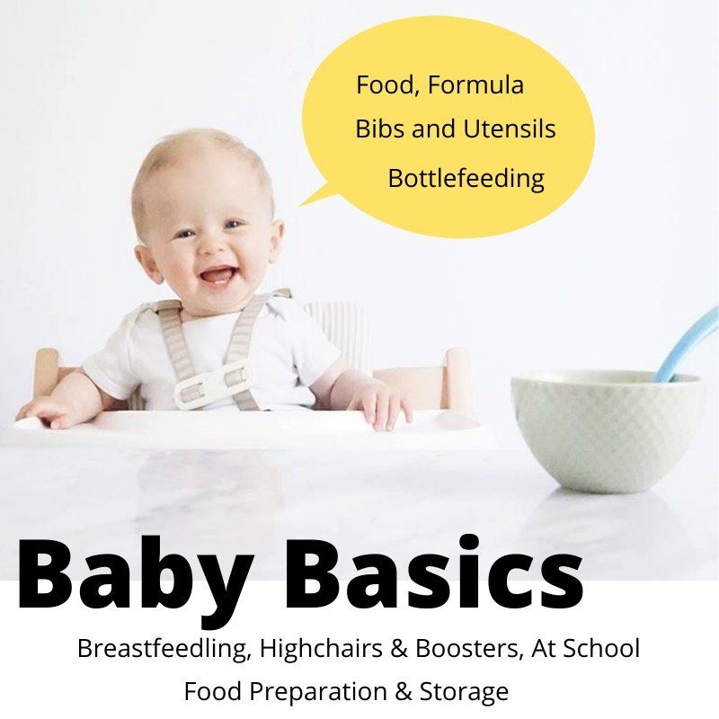 All the basics you need for baby