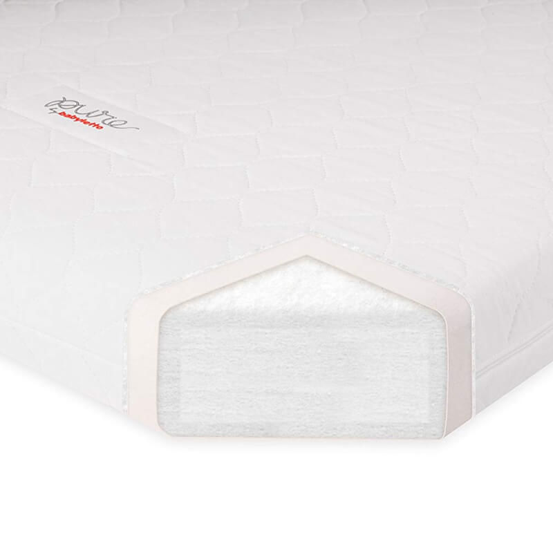 Babyletto Pure Core Non Toxic Crib Mattress With Hybrid Waterproof Cover 132 X 71 X 15 Cm Baby Central Hk