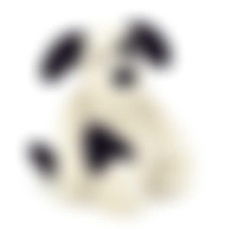 Jellycat Bashful Black & Cream Puppy - Medium 31cm