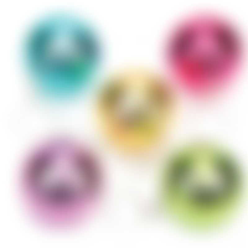 Baker Ross Disco Glitter Ball Keyrings (Pack of 6)