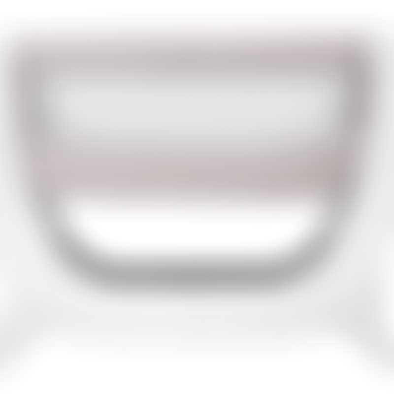 Shnuggle Air Bedside Crib - Stone Grey