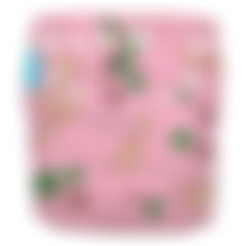 Charlie Banana 1 Diaper 2 Hemp Inserts - Organic Sophie Coco Pink (One Size)