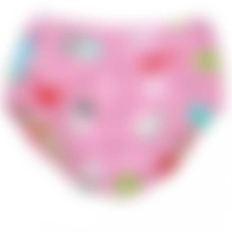 Charlie Banana 2-in-1 Swim Diaper & Training Pants - Florida Pink - Large