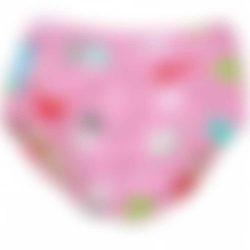 Charlie Banana 2-in-1 Swim Diaper & Training Pants - Florida Pink - Medium