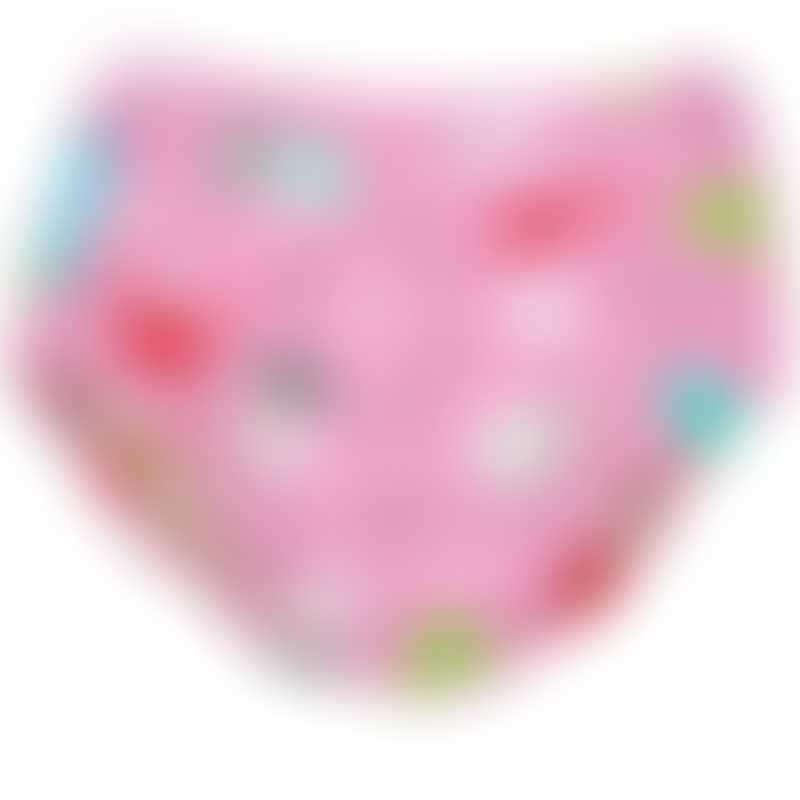 Charlie Banana 2-in-1 Swim Diaper & Training Pants - Florida Pink - X-Large