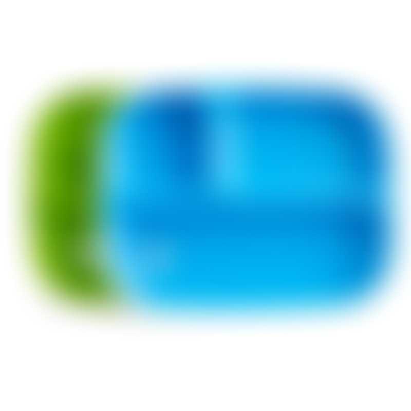 Munchkin Splash Toddler Divided Plates 2-Pack - Green/Blue