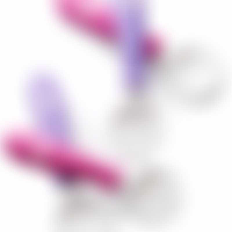 BabyBjorn Spoon & Fork, 4-Pack - Pink/Purple