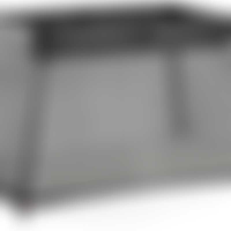 BabyBjorn Travel Crib Light - Black, Mesh