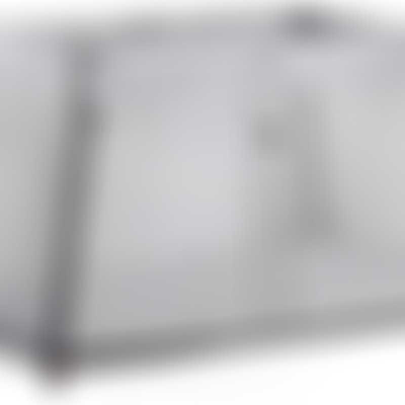 BabyBjorn Travel Crib Light - Silver, Mesh