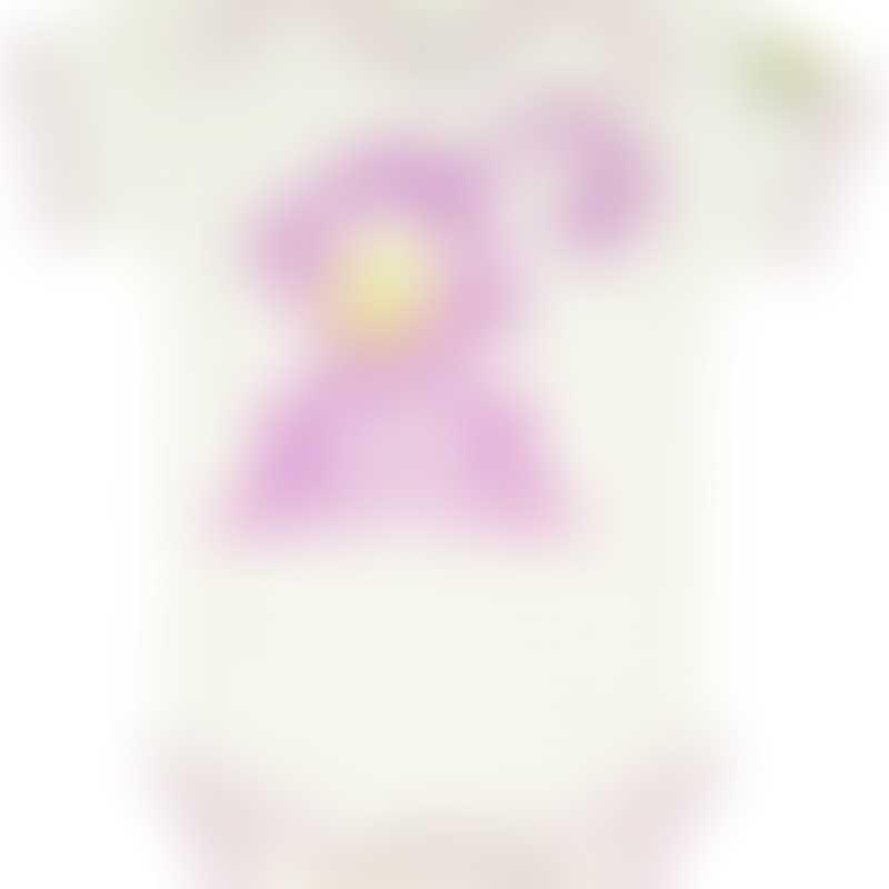 Baby Hero Pink Monkey Onesie, Short-Sleeve 0-3m / 3-6m / 6-12m