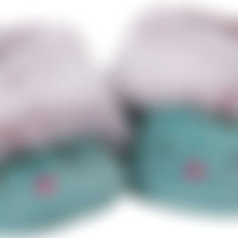 Moulin Roty Les Pachats Blue Cat Baby Slippers with Fur 0-6mos