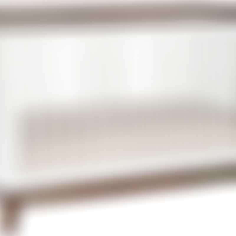 Babyletto Scoot 3-in-1 Convertible Crib - White / Walnut