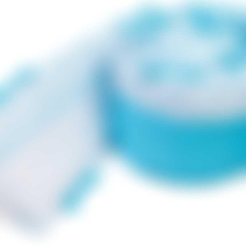 bloom Alma Mini Bumper (270cm x 20.5cm) - Lollipop Bermuda Blue (NEW PATTERN)