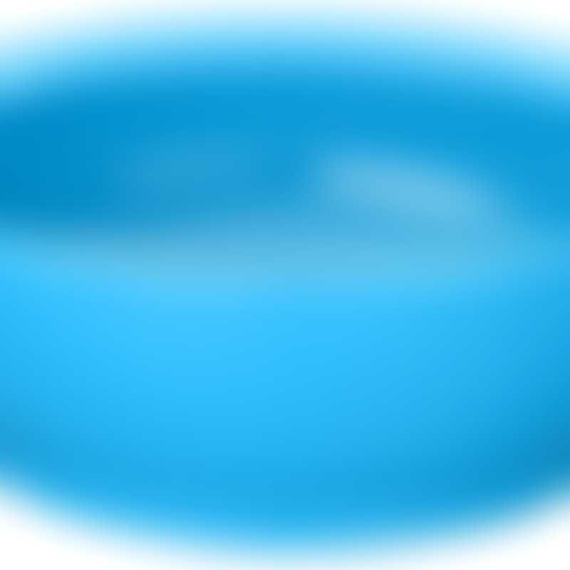 Calibowl 12oz Ultimate Non-Spill Bowl - Light Blue