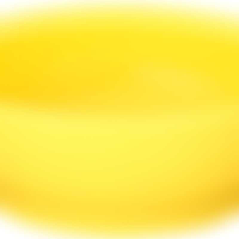 Calibowl 12oz Ultimate Non-Spill Bowl - Yellow