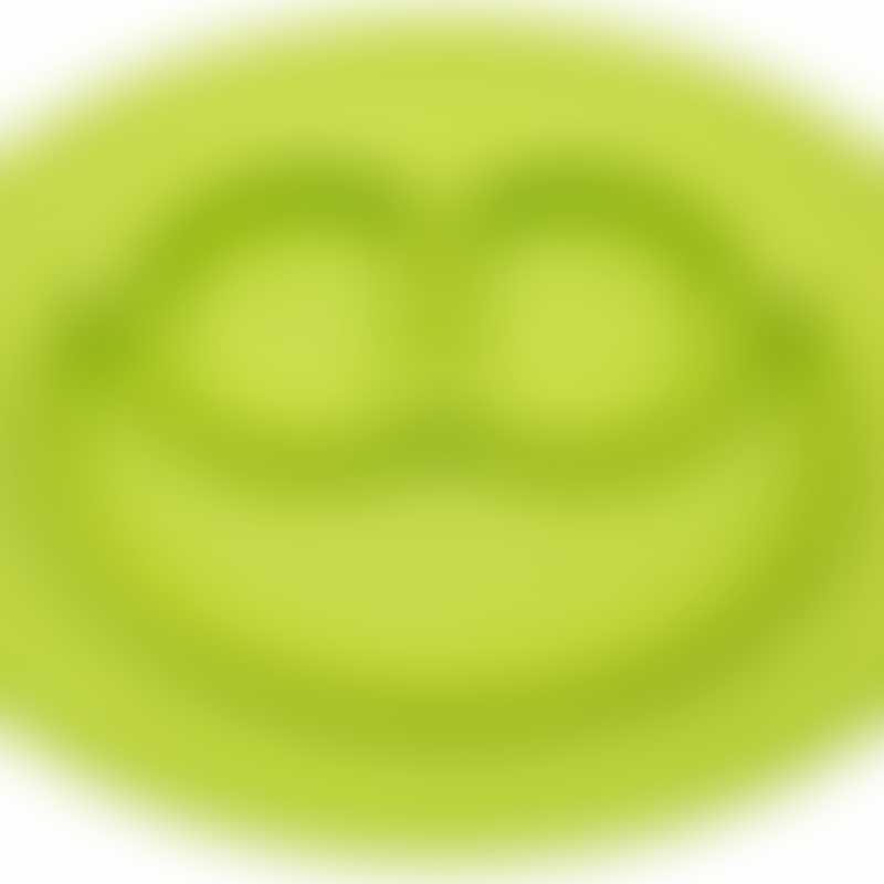 Ezpz Mini Mat Plate & Mini Placemat - Lime