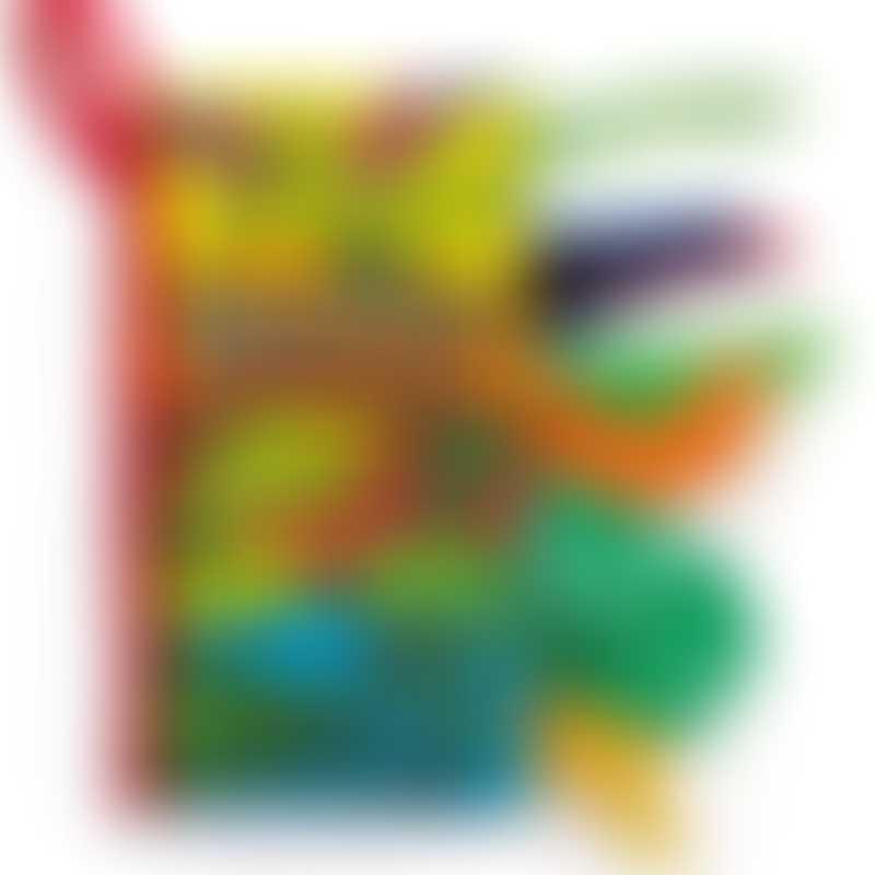 Jellycat Dino Tails Book 21cm