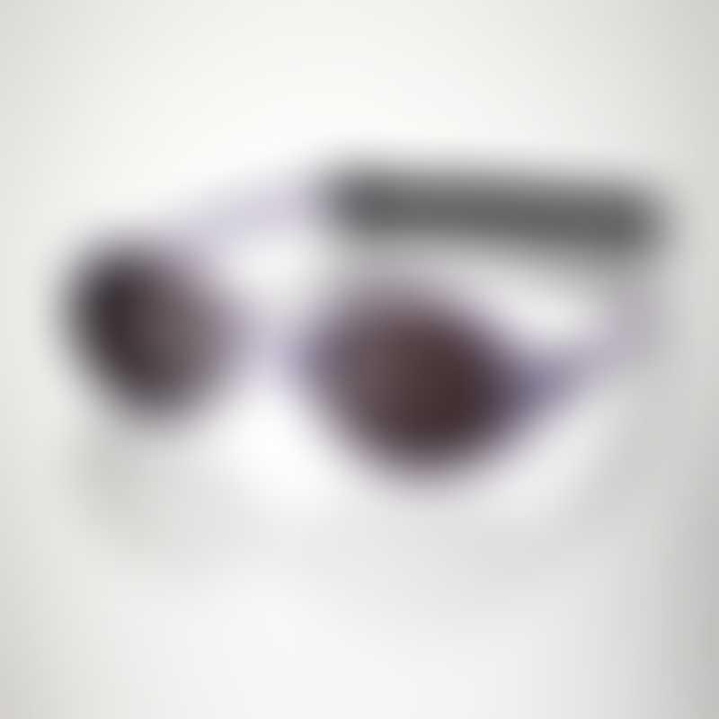 KI ET LA Baby Sunglasses Diabola (0-18 months) - 2 sizes in 1 - Mauve