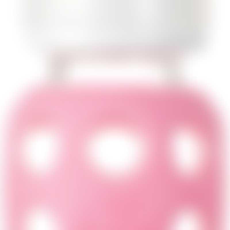 Lifefactory Baby Bottle 4 oz - Pink