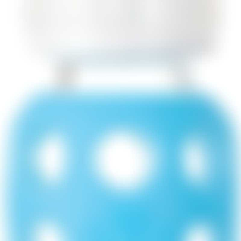 Lifefactory Baby Bottle 4 oz - Sky Blue