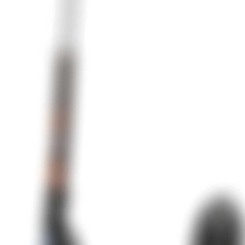 Micro Scooter - Black (200mm PU wheel)