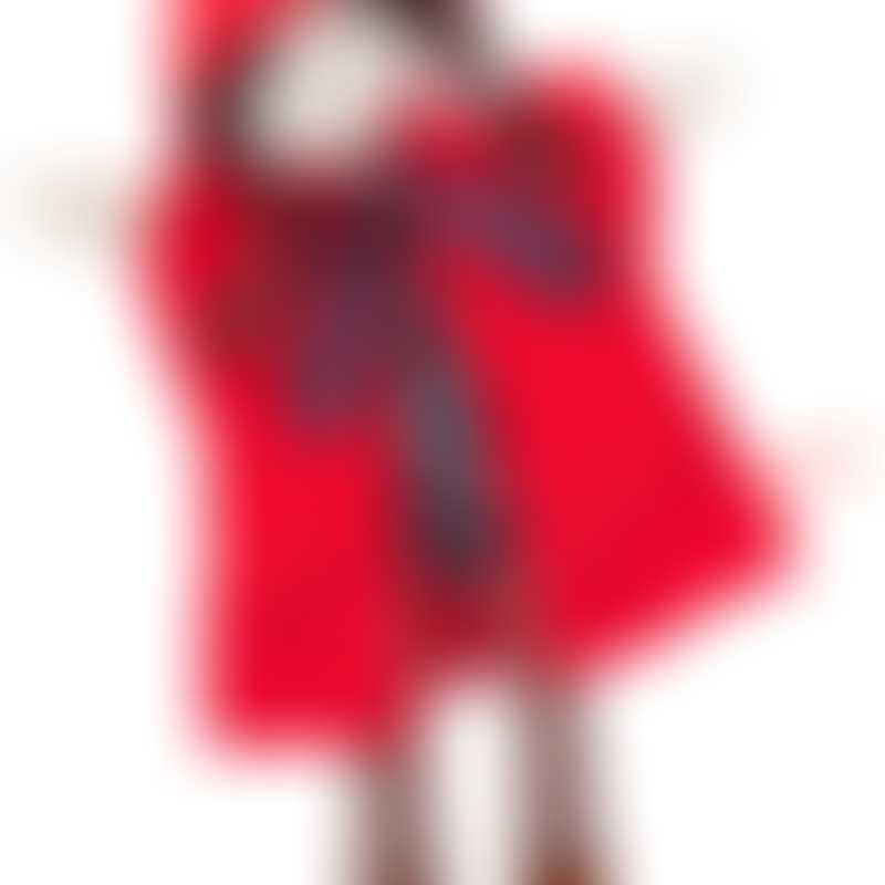 Moulin Roty Il Etait Une Fois Hand Puppet - Little Red Riding Hood 37cm