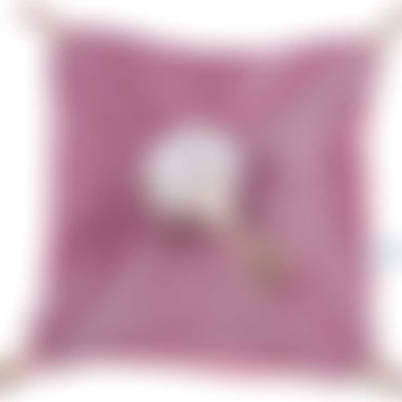 Moulin Roty Les Pachats Square Purple Mouse Comforter 23cm