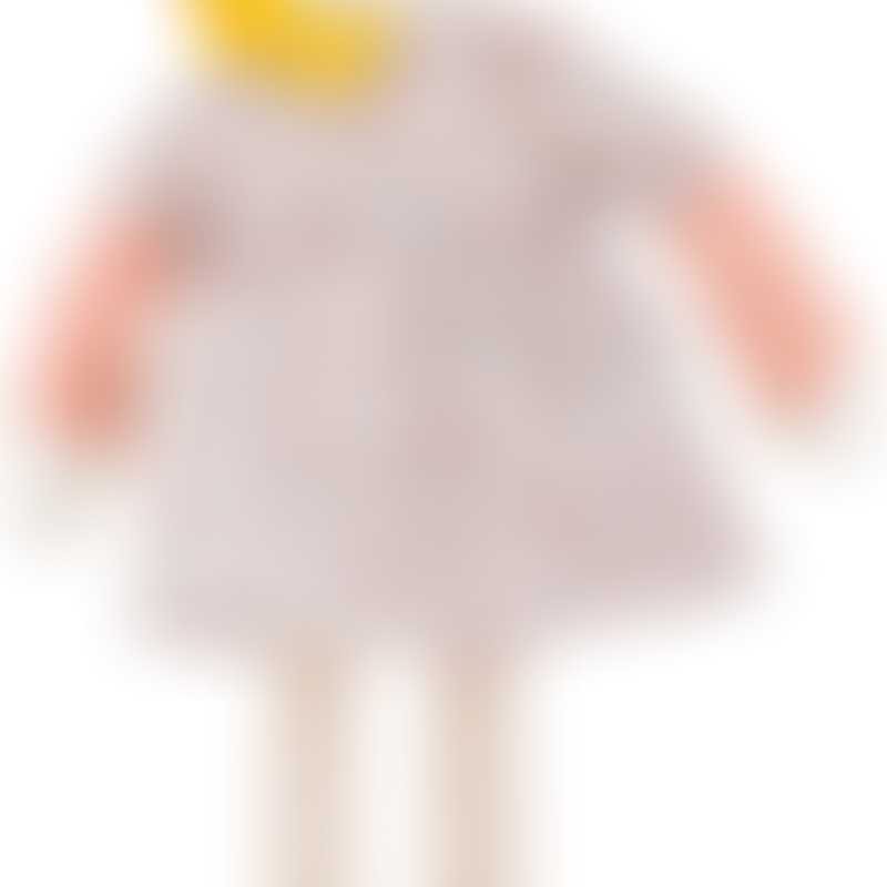 Moulin Roty Les Parisiennes Mademoiselle Blanche Doll 26cm