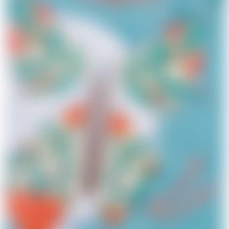 Moulin Roty Les Petites Merveilles Magic Butterfly, Tulip 9.5x9cm
