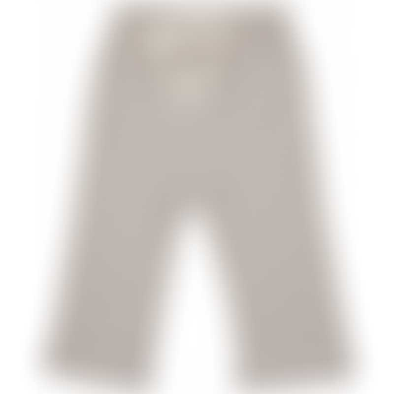 Nature Baby Drawstring Pants - Mushroom Stripe
