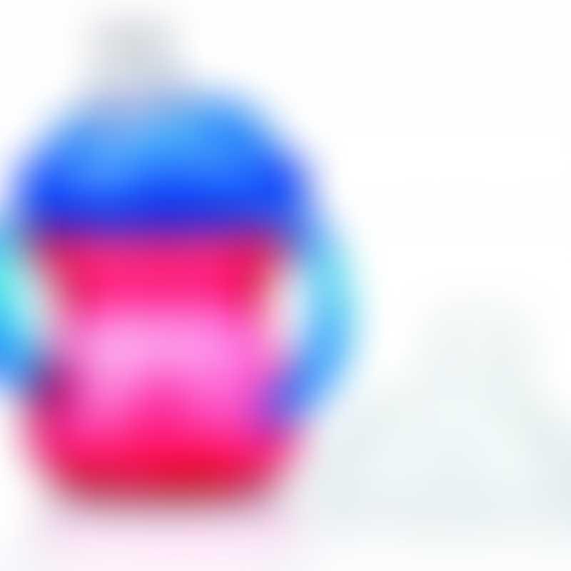 Nuby Clik-it GripNSip Cup 240ml - Red