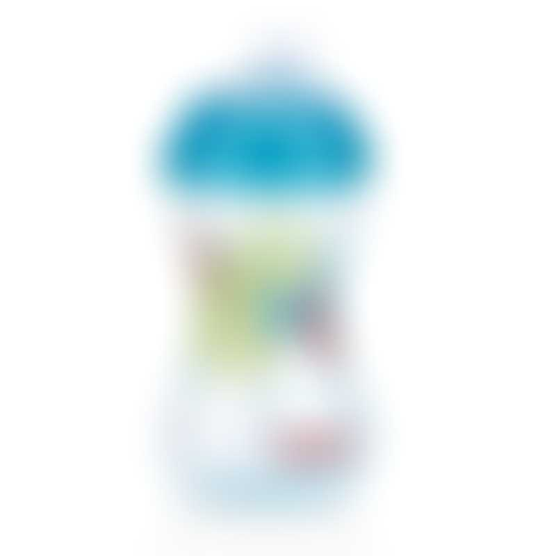 Nuby Designer Series No-Spill Clik-it Easy Grip 300 ml - Aqua 6m+