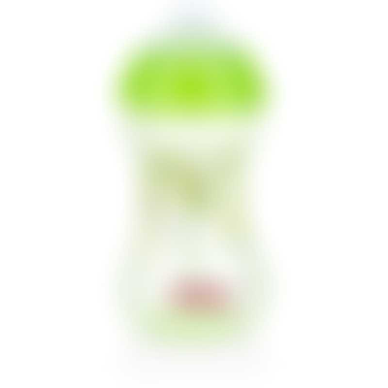 Nuby Designer Series No-Spill Clik-it Easy Grip 300 ml - Green 6m+
