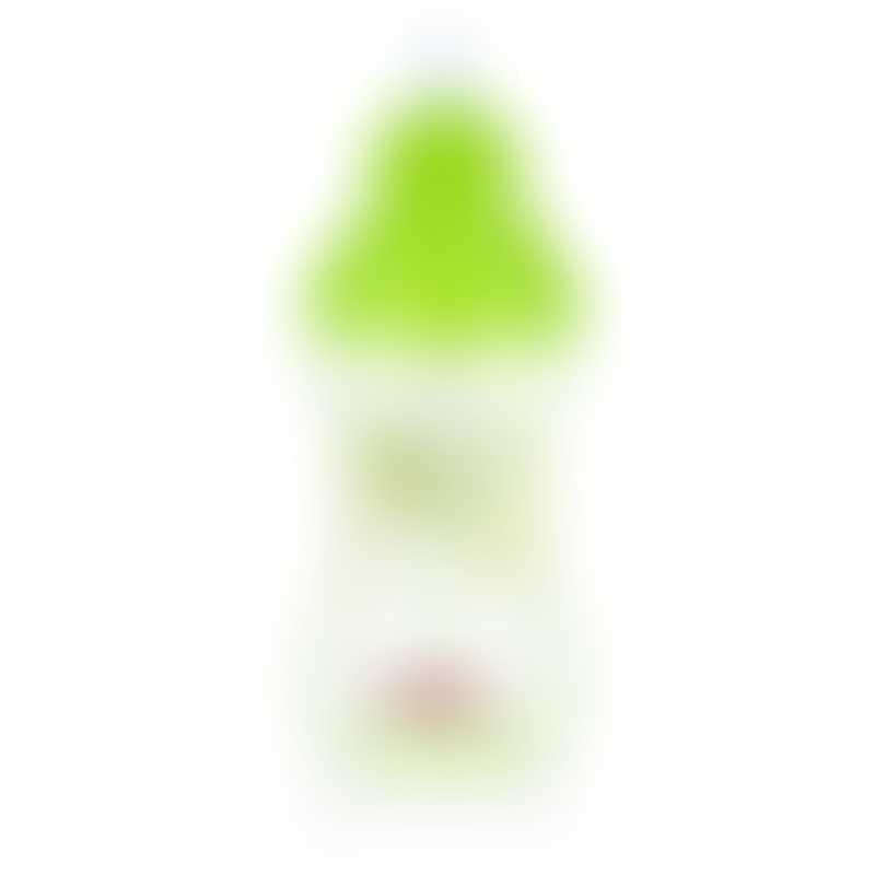 Nuby Designer Series No-Spill Clik-it Flip-it 300 ml - Green 12m+