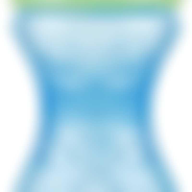 Nuby No-Spill Clik-it Easy Grip 300 ml - Blue