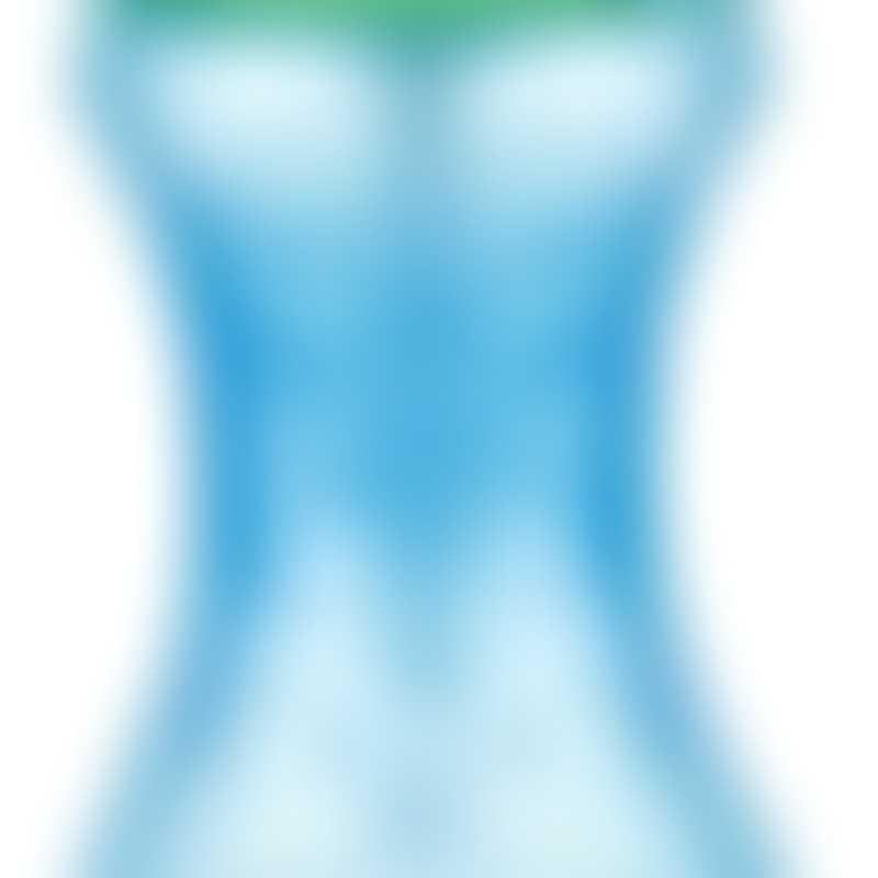 Nuby No-spill Clik-it Flip Cup 360ml - Blue