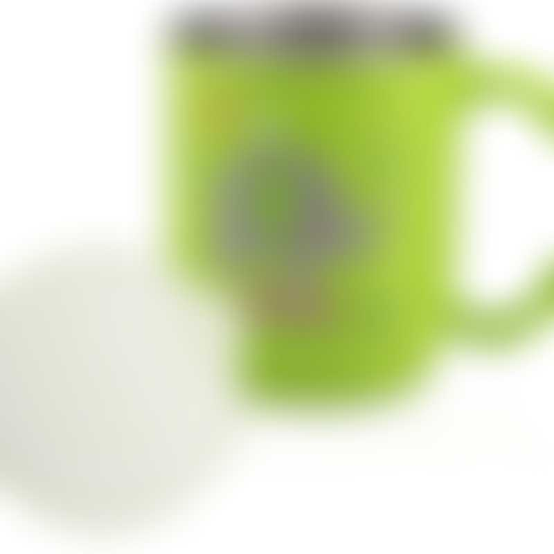 Nuby Stainless Steel Mug with Lid - Green