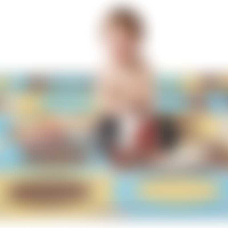 Skip Hop PlaySpot - Blue / Gold (20 tiles)
