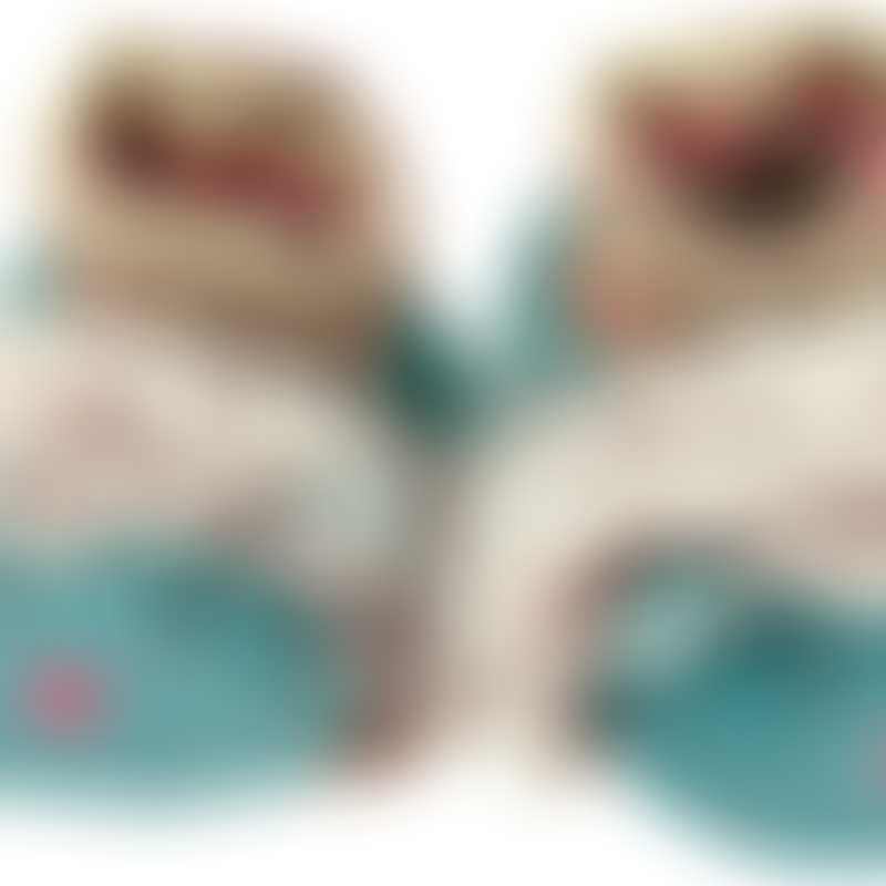 Moulin Roty Les Pachats Chacha Baby Slippers 0-6mos