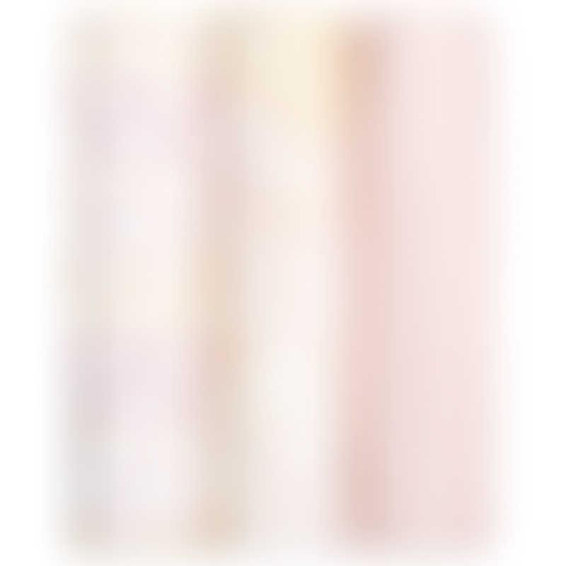 aden + anais Silky Soft Swaddles 3-Pack - Metallic Primrose Birch