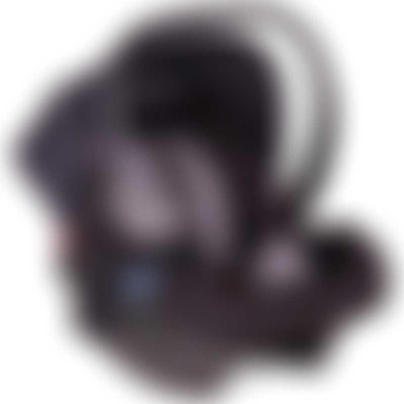 Phil & Teds Alpha Baby Car Seat - Black / Grey Marl