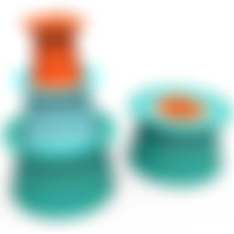 Quut Toys Alto, Lagoon Green + Vintage Blue + Mighty Orange