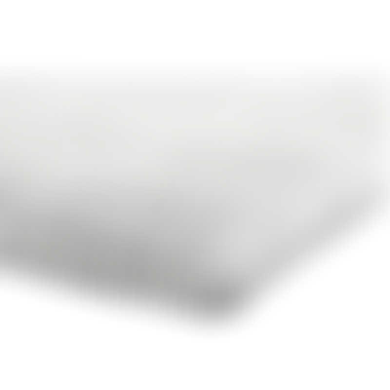 Babyletto Mini Crib Fitted Sheet - Tuxedo Monochrome Grid (95x60cm)