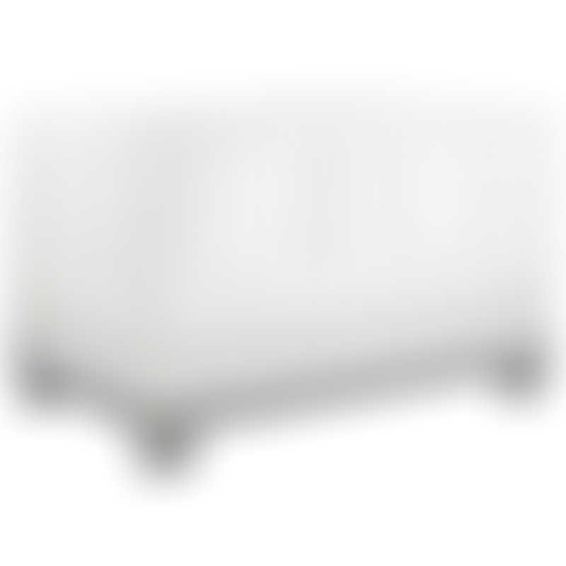 Babyletto Modo 3-in-1 Convertible Crib - Grey / White