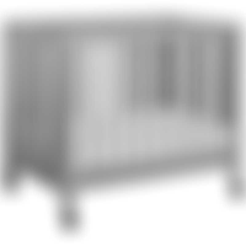 Babyletto Origami Mini Crib - Grey