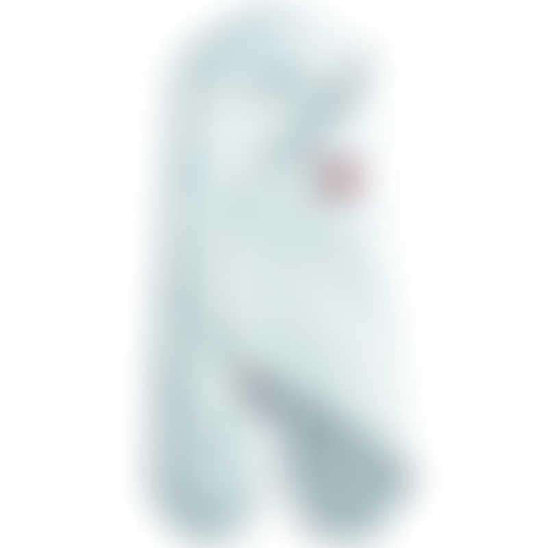 Red Castle | Cocoonababy Babynomade Swaddle Blanket Tog 1.5 - Fleur de Coton, Powder Blue 0-6mos