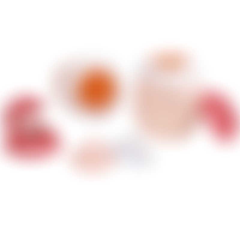 Beaba BabySqueez 2-in-1 & SqueezPortion Set - Pink 6mos+