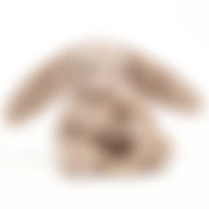 Jellycat Bashful Beige Bunny Wooden Ring Toy 13cm