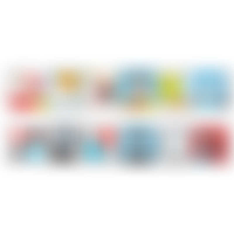 BenBat Dazzle Double Sided Soft Book